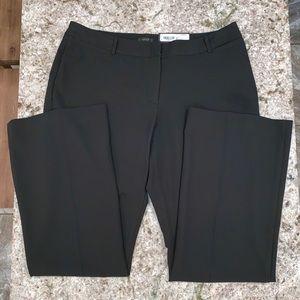 Worthington Black Curvy Fit Career Slacks Pants
